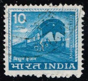 India #669 Electric Locomotive; Used (0.25)