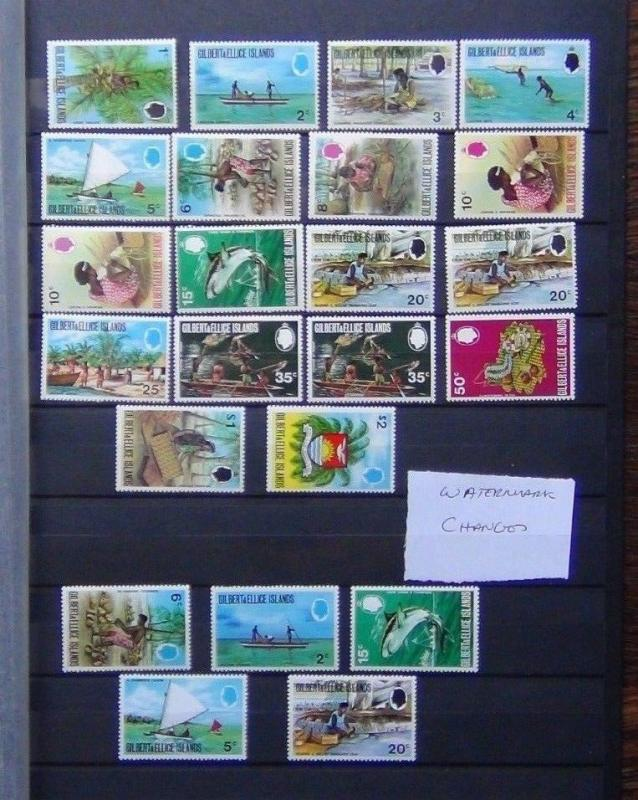 Gilbert & Ellice Islands 1971 Local Scenes set to $2 MNH