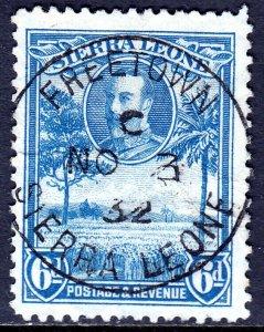 Sierra Leone - Scott #147 - Used - Pencil on reverse, light crease - SCV $3.50