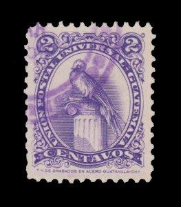 GUATEMALA STAMP 1957. SCOTT # 367. USED. # 1