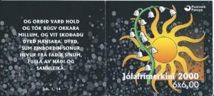 Faroe Islands #388a FaH19 Booklet MNH CV$10.00