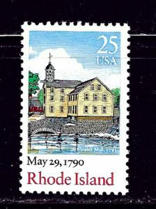 U.S. 2348 MNH 1990 Rhode Island Issue