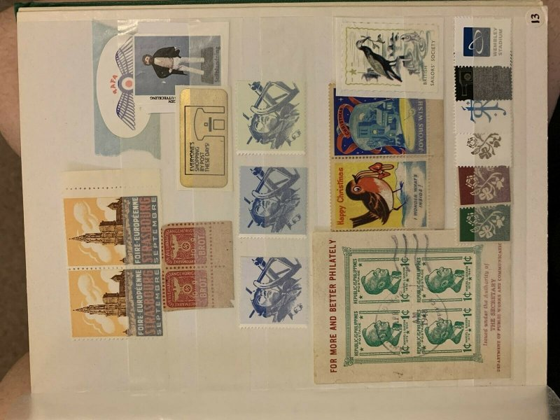 Cinderellas Accumulation 1890s-1940s Interesting Lot NW-161829