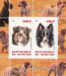 Dogs -  Sheet of 2  - 2J-026