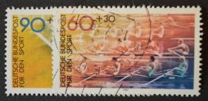 Germany Sc # B587-588, VF Used