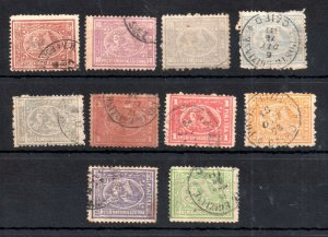 Egypt 1872 Sphynx & Pyramid used set to 5PI WS19181