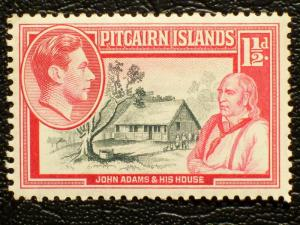 Pitcairn Islands Scott #3 unused