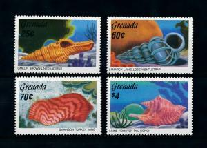 [99654] Grenada 1986 Marine Life Sea shells  MNH