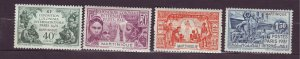 J23805 JLstamps 1931 french martinique set mh/mhr #129-32 expo, 2 scans