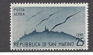 San Marino, C41, Gulls & San Marino Skyline Single, **MNH**