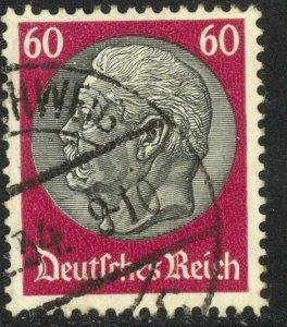 GERMANY 1933-35 60pf HINDENBURG Portrait Issue Sc 429 VFU