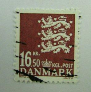 Denmark SC #1309  Used stamp