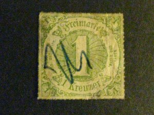 Germany-Thurn & Taxis #60 used  a1910.9769