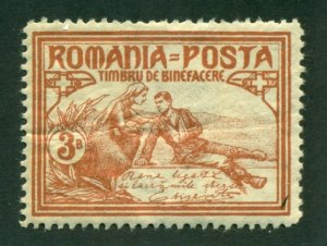 Romania 1906 #B9 MH SCV(2020)=$6.00