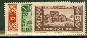B: Syria 208-230 mint CV $88.55; scan shows only a few