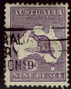 Australia SC#122 Used F-VF hr...fill a key spot!!