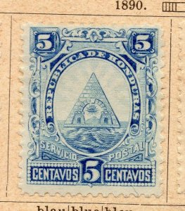 Honduras 1890 Early Issue Fine Mint Hinged 5c. NW-11874