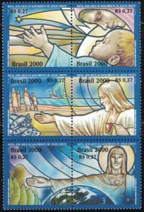 Brazil MNH Block 2773 Christmas 2000