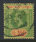 Straits Settlements George V  SG 211a Used