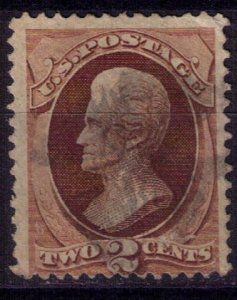 US Sc 146  Used 2c Brown F-VF