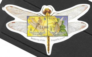 PITCAIRN ISLANDS SGMS790 2009 DRAGONFLY FINE USED