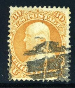 UNITED STATES BENJAMIN FRANKLIN SCOTT#71  USED