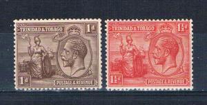 Trinidad  Tobago 22;23 MNH King George V 1922 (T0118)