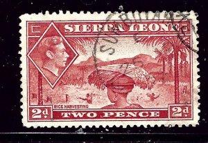 Sierra Leone 176A Used 1941 Rice Harvesting  #2