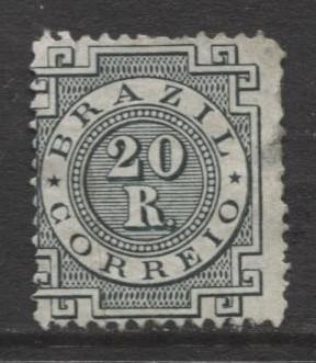 Brazil - Scott 87 -  Definitive -1884 - Mint - Single 20r Stamp