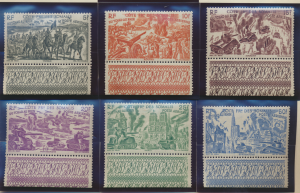 Somali Coast (Djibouti) Stamps Scott #C9 To C14, Mint Never Hinged, With Tabs...