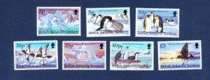 BRITISH ANTARCTIC TERRITORY - # 264 // 274 -  FVF MNH see note -- Birds - 1998