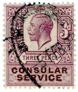 (I.B) George V Revenue : Consular Service 3d