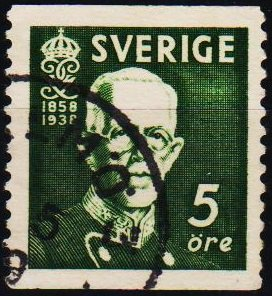 Sweden. 1938 5ore S.G.208 Fine Used