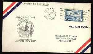 FFC SHEDIAC NEW BRUNSWICK TO NEW YORK (AAMC F18-12)(K1265)