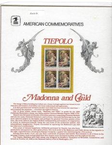Souvenir Page - Tiepolo (Madanna & Child) #2026 #SP599