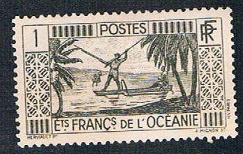 French Polynesia 80 MLH Spear Fishing (BP466)