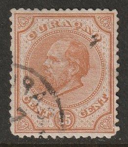 Netherlands Antilles 1881 Sc 5 used
