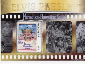 Micronesia - Elvis in Paradise-Hawaiian Style  Stamp S/S MIC1106