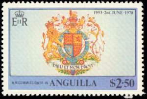 Anguilla #315-318, Complete Set(4), 1978, Royalty, Never Hinged