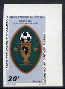 Cameroun 1972 Africa Cup Football Championships 20f (Cup)...