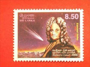 SRI LANKA, 1986, MNH, 8.50, Appearance of Halley's Comet.