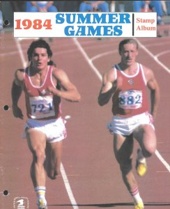 1 1984 Summer Games stamp album from the USPS
