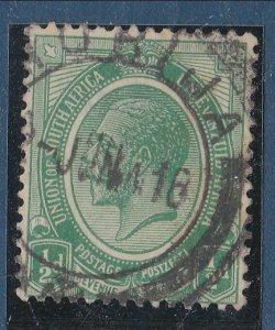 BASUTOLAND 1916 Sth Africa GV ½d 1d MORIJA cds..............................N410