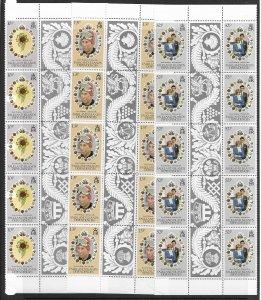 Falkland Is. 1L59-61 Princes Di MNH cpl. set  x 10 vf, 2022 CV $14.50