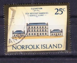 Norfolk Island 1973 Historic Buildings 25c used