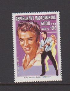 MALAGASY REPUBLIC   STAMPS MNH OF ELVIS PRESLEY #1297 .LOT#440
