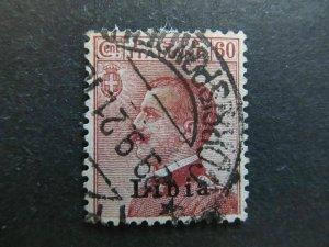 A4P26F36 Libia 1917-18 60c usato