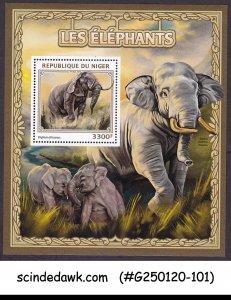 NIGER - 2016 ELEPHANTS / WILD ANIMALS - MIN. SHEET MNH