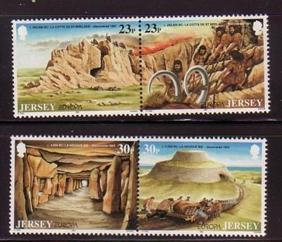 Jersey Sc 666-9 1994 Europa  stamps mint NH