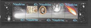NIUAFOOU - #64- HALLEY'S COMET  MNH